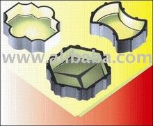 Concrete rubber molds