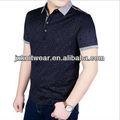 Para hombre del negocio ¿ trabajas profesional ropa, Pure cotton pure color hombres de manga corta camisa de POLO en blanco