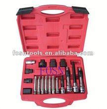 2014 Alternator Freewheel Pulley Removal Set 18pcs Alternator Car Tools Set scania marine industry diagnostic tool
