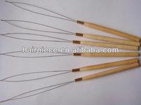 hair extension loop pulling needle/beading tools supplier/needle threader
