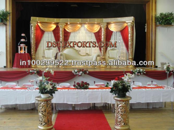 See larger image PAKISTANI NIKAH STAGE