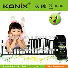 61 Keys Flexible Roll Up Piano/Midi hand roll piano PN61