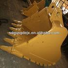 Hitachi/Komatsu/Volvo/Kobelco/JCB excavator, standard/heavy duty/rock excavator bucket, Shandong Jining manufacturer