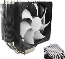 140mm 12v Intel/AMD cpu cooler fan+ five heat pipes +cpu cooling fan