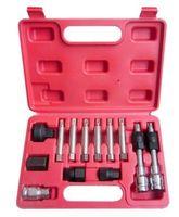 2014 Alternator Freewheel Removal Set 13pcs Alternator Car Tools Set speed handle for auto repair tools