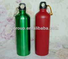 BPA free 600ml stainless steel water bottle with carabiner ,stainless steel traveling sports bottle,500ml kids water bottle