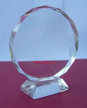 Nice design blank crystal shield