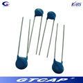 Hochspannung keramischer kondensator radial disc-typ kondensator 3kv