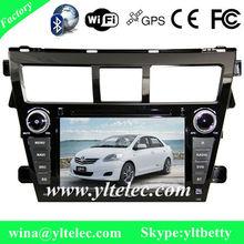 Toyota Vios car dvd radio gps ipod with 3g