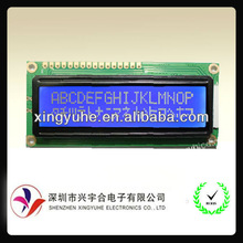16 characters 2 lines blue lcd module