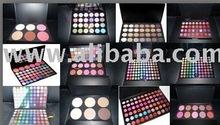 Cosmetic eyeshadow,makeup bags,brush,eye shadow pallete,blusher,mascara,eyeliner,lipgloss,lipstick,powder foundation