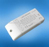 ETL UL 220v 12v 24v 15w led transformer triac dimmable LED MR16 driver,quality LED MR16 driver