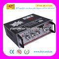 Digital audio amplificador 100 w rms com suporte FM CD / DVD / VCD