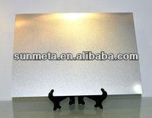 Yiwu sunmeta Factorysublimation metal sheet metal name card