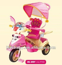 2012 New Fashion Luxury Baby Tricycle,youth tricycle,tricycle for baby best toys for baby