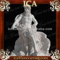 Gigantesca statua, intagliato a mano di pietra scultura greca, marmi cutomized, statua etnica bm0172