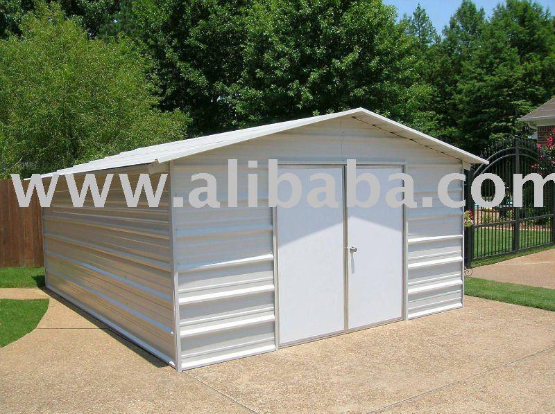 Prefabricados de acero ligero de garajes estructuras acero - Garajes prefabricados precios ...