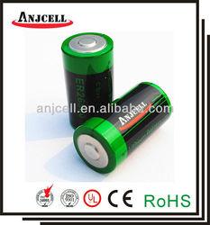 er26500 9000mah 3.6v c size tadiran 3.6v lithium battery