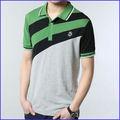 Oem fabricante de roupas personalizado mais barato camisa polo ajustado seco