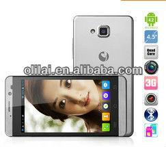 JIAYU G3 smartphone MTK6589 Quad Core 1.2GHz 4.5 inch IPS screen 1GB RAM Dual SIM WCDMA GPS