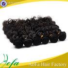 cheap human virgin brazilian hair half wig for black women