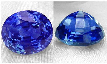 Natural azul zafiro pi...