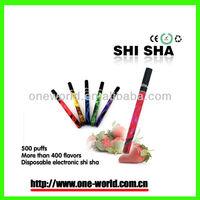 2013 most popular disposable e cig wholesale 500 puffs shisha electronic cigarettes