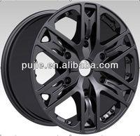 Black 20 inch racing wheel