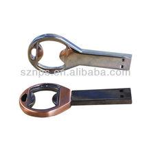 Top Sale Metal Open Bottle Shape Pen Drives USB with Multi-function