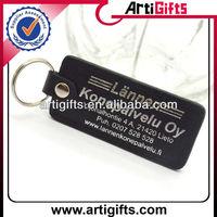 2013 Customized design blank leather keyring