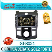 LSQ Star Manufacturer 7inch 2012 Kia Cerato/ Shuma/ Forte Car DVD GPS Navigation bluetooth radio ipod SWC manual/auto ac
