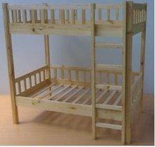 Children Wooden Bunk Bed.