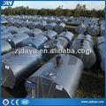 dy 3000l usado barato açoinoxidável leite água tanque de transporte de caminhão