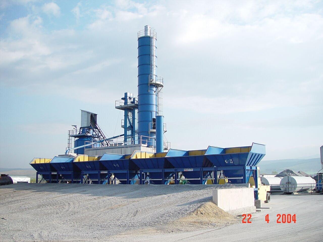 Marini Asphalt Factory Asphalt Plant Marini