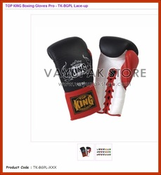 TOP KING Boxing Gloves Pro - Lace-up