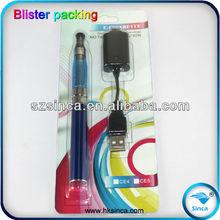 no flame e-cigarette cartridge Cheapest Ego CE4 blister pack,electronic cigarette ego ce4 blister kit,pen like e-cigarette