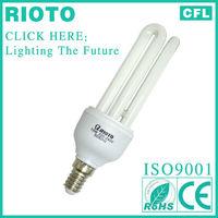 Tri-phosphor Powder Plastic Housing 3U Energy Saving Light Bulb