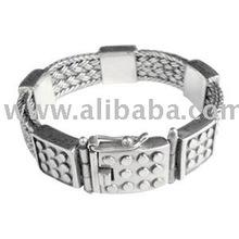 Bali Mens Silver Bracelet