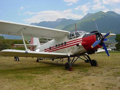 Avión AN2