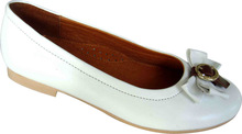 fashion leather casual shoes for women