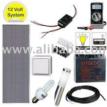 14W Solar Kit 12V System 90 Wh/d