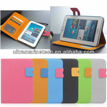 360 Samsung Galaxy Tab 2 7.0 P3110 P3100 Rotating PU leather case for 7 inch tablet pc