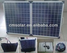 DC12V/24V 140W portable foldable solar panels