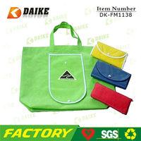 Custom Reusable Canvas Folding Bag For Shopper DK-FM1138