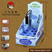 Retail 4c Printing Pen Pop Counter Top Display Carton Board Display