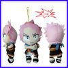 (ACCEPT PAYPAL)24cm Natsu Fairy Tail japanese anime hang stuffed plush toy supplier