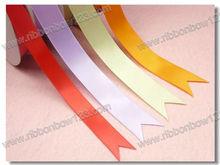 No color fading multi color satin ribbon