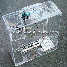 POP Custom Clear Unique Computer Case