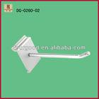 wholesale white slatwall hook peg hanger display