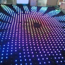 LED star cloth 2*3meter mixed RGB/led cloth curtain